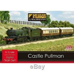 370-160 Graham Farish N Gauge Castle Pullman Model Train Set DDC Sound New Boxed