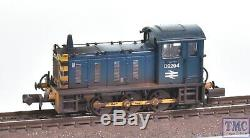 371-051B Graham Farish N Gauge Class 04 D2294 with Wasp Stripes Weathered
