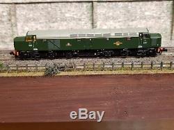 371-180 N Gauge Farish Class 40 D211 Br Green With Legoman Sound & Cab Lights