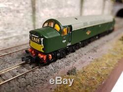 371-181 N Gauge Farish Class 40 D369 Br Green With Legoman Sound & Cab Lights