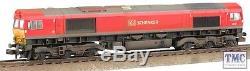 371-383A Graham Farish N Gauge Class 66 66101 DB Schenker TMC Weathered