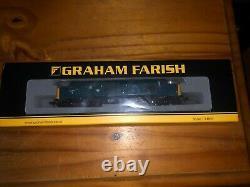 371-465 Graham Farish N Gauge Class 37/0 37254 in BR Blue Hornby TTS Sound