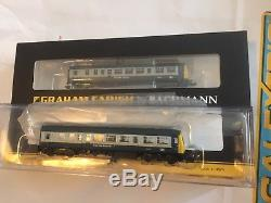 371-503 Graham Farish N Gauge Class 101 2 Car DMU BR Blue & Grey Express Parcels