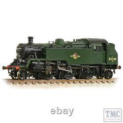 372-331 Graham Farish N Gauge BR Standard 3MT Tank 82020 BR Green (Late Crest)