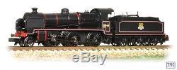 372-931 Graham Farish N Gauge N Class 2-6-0 31844 BR Black Early Emblem