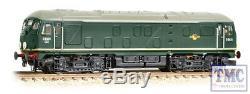 372-976A Graham Farish N Gauge Class 24/0 D5031 BR Green (Late Crest)