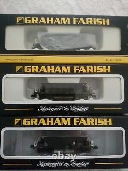 3x Graham Farish Sea cow wagons New