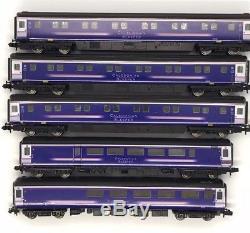 5x Graham Farish Mk2 Mk3 coaches First Caledonian Sleeper n gauge 1/2
