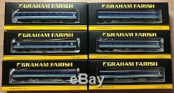 6x Graham Farish BR Mk1 Regional Railways Coaches. Mixed Rake