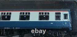 6x Graham Farish Mk1 BR Blue & Grey. Mixed Rake