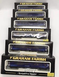 6x Graham Farish N Gauge Mk2 Scotrail Coaches Fife Circle Set