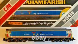 Cjm Graham Farish N Gauge Class 50 Diesel 50035'ark Royal' Network Southeast