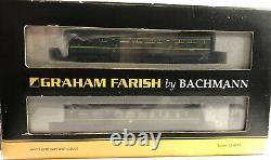 DCC Graham Farish 371-886 Class 108 Three Car DMU BR Green (Small Yellow Panel)