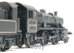 DCC Sound Graham Farish Class Ivatt 2MT 46460 BR Black Early Emblem Weathered