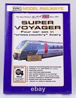 Dapol N Gauge Nd-087b Cross Country 4 Car Emu Super Voyager Boxed