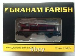 Eight Graham Farish N Gauge CEA covered Hopper Wagons
