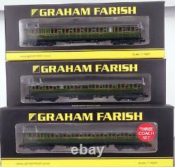 FARISH 372-775/374-911 Class C Locomotive and Birdcage Coach Set NEW