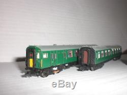 FARISH N GAUGE 4-CEP EMU GREEN with SYP MINT see details Dapol compatable