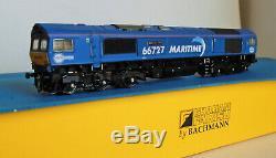 Farish, Bachmann, Class 66727, Maritime One, DCC 6 Pin Ready Repaint
