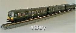 Farish Class 108 3 car unit DMU in BR Green 371-886
