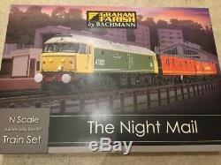 Farish N Gauge 370-130 The Night Mail Train Set