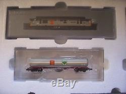 Farish N Gauge 370-251 Diesel Fuel Freight Train set Co-Co Railfreight Distrib'n