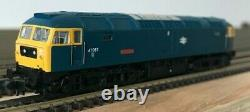 Farish N Gauge Class 47 47087'Cyclops' in BR Blue TTS Sound Fitted New