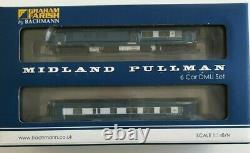 Farish N Gauge Midland Pullman 6 Car Unit (371-740) in Nanking Blue BNIB
