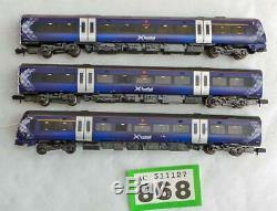 G868 N gauge Graham Farish 371-433 CL 170/4 3 car DMU First Scotrail