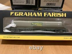 GRAHAM FARISH 100 TON GLW HHA BOGIE HOPPER WAGON FREIGHTLINER x 9