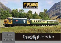 GRAHAM FARISH 370-048 1148 N SCALE The Highlander Digital Train Set