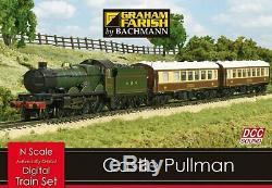 GRAHAM FARISH 370-160 Castle Pullman Digital Sound Train Set N GUAGE