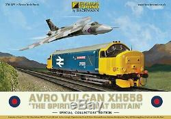 GRAHAM FARISH 370-375 Avro Vulcan XH558 Spirit of Great Britain Collectors Pack