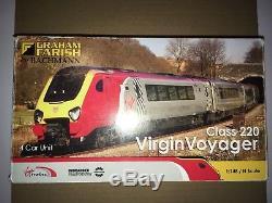 GRAHAM FARISH 371-675 4-car Virgin Voyager. Good runner. Hardly used