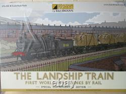 GRAHAM FARISH BY BACHMANN LANDSHIP TRAIN FIRST WORLD WAR TANKS CAT No 370-300