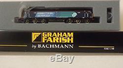 GRAHAM FARISH by BACHMANN. N GAUGE. CLASS 57 DIESEL. NEW. DDC READY