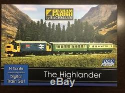 Graham Farish 370-048 The Highlander Digital Train Set N Gauge