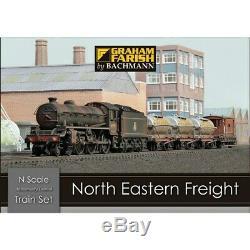 Graham Farish 370-090 North Eastern Freight N Gauge Train Set