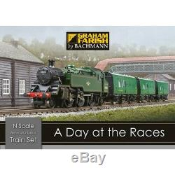 Graham Farish 370-185 N Gauge A Day at the Races Train Set Brand New