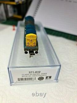 Graham Farish 371-032 Class 20 Diesel 20063 BR Blue (Weathered)