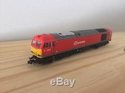 Graham Farish 371-355 Class 60 60011 DB Schenker, N Gauge 6 DCC Fitted
