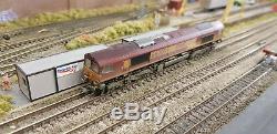 Graham Farish 371-384 N Gauge EWS Class 66 66209 EWS Weathered