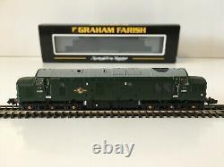 Graham Farish 371-453 N Gauge CLASS 37/0 DIESEL D6826 BR GREEN LATE CREST