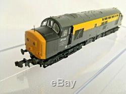 Graham Farish 371-456 BR CLASS 37/0 in Dutch Engineers Grey and Yellow N Gauge
