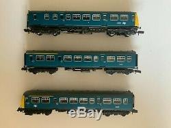 Graham Farish 371-510 Class 101 Three Car DMU BR Blue Boxed DCC FITTED decoder