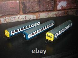 Graham Farish 371-511 class 101 dmu 3 car blue grey n gauge dc