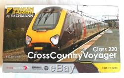 Graham Farish 371-678 Class 220 Four car DMU'Arriva Cross Country' Livery. Used