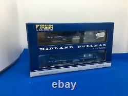 Graham Farish 371-740 n gauge six car Midland Pullman unit Nanking Blue boxed
