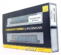 Graham Farish 371-876ds Br Blue Class 108 2 Car Dmu DCC Sound