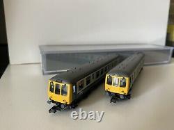 Graham Farish 371-877 N Gauge 2-Car Class 108 DMU BR Blue / Grey Livery